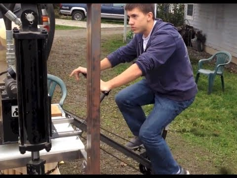 World's Best Home Made Cider Press...  REALLY!