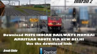 download lagu Download Msts Indian Railways Mumbai-amritsar Route Via New Delhi gratis
