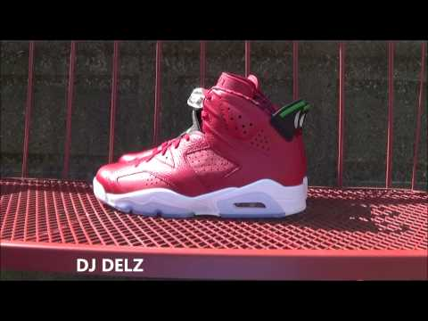 Air Jordan 6 History Of Spizike Shoe Review + On Foot + Lacelock Fix + Vlog  W/ DJ Delz