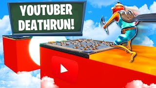 Which YouTuber has the easiest Deathrun level...🤔  (Fortnite Creative Mode)