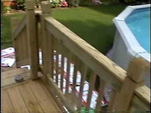 diy 94 deck railings and stairs added diy reviews