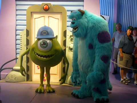how did mike and sully meet in monsters inc