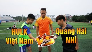 So Tài Bóng Đá | Team Quang Hải Nhí Duy Trung đại chiến Penalty Team Hulk Việt nam