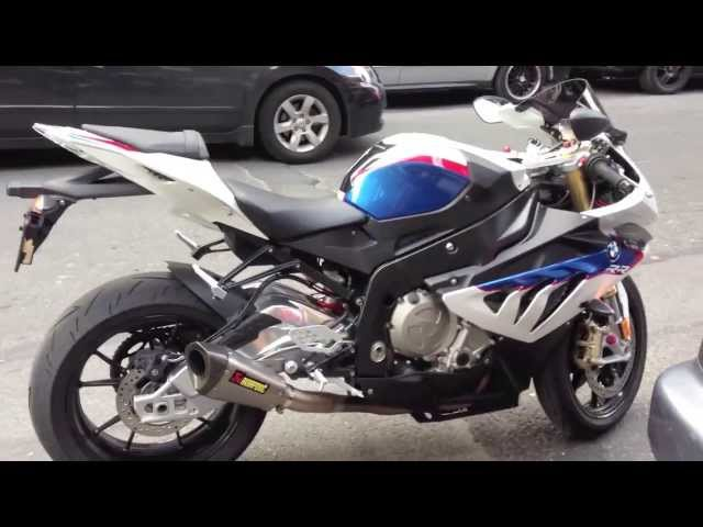Akrapovic BMW S1000RR Full Exhaust System Amazing sound Bx48 Moto Vlog
