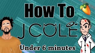 From Scratch: A J. Cole Type Song in Under 6 Minutes | FL Studio Rap Sampling Tutorial 2018