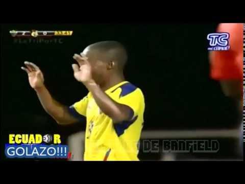 Golazo de Cazares (Selección Ecuador)