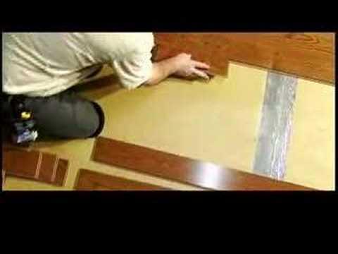 How To Install A Locking Hardwood Floor
