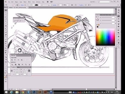 Инструмент Перо в Photoshop, Illustrator и InDesign