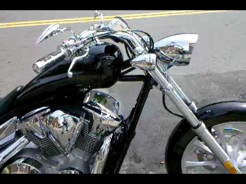 2010 Honda Fury w/ Cobra swept pipes.