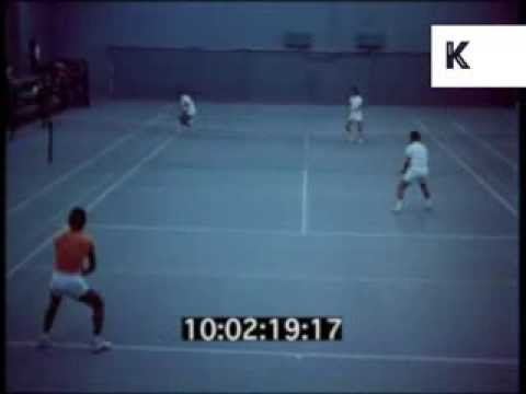 1970s Iran, Sports, Tennis, Waterskiing, 35mm Archive Footage