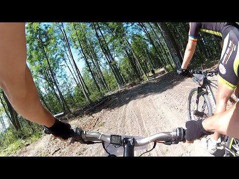 Prima coborare - Moneasa Mountainbike Maraton 2014