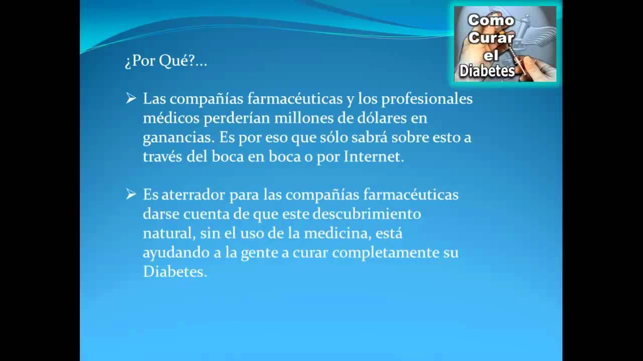 Como Curar La Diabetes (Impactante Verdad Oculta), La