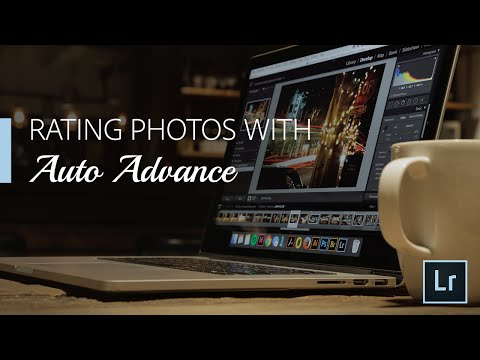 Lighroom Coffee Break: Rating Photos with Auto Advance