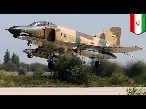 Iran bombs ISIS: Aging Iranian F-4 jets hit militant targets in eastern Iraq