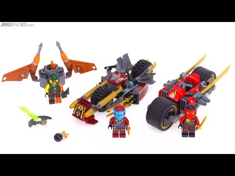 LEGO Ninjago 2016 Ninja Bike Chase review! 70600