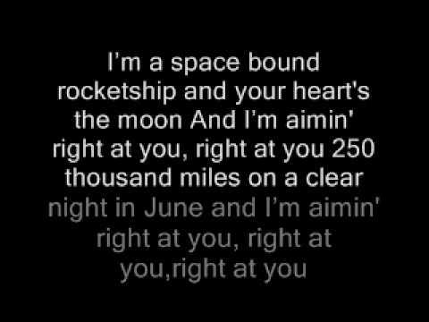 Eminem - Space Bound Lyrics