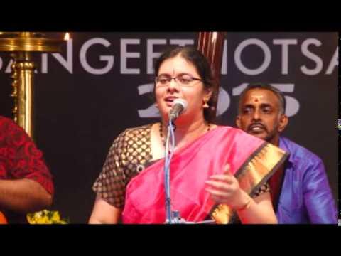 Amrutha Venkatesh - Dhanyasi Pada Varnam - Swathi Sangeethotsavam 2015 - Kuthiramalika Palace video
