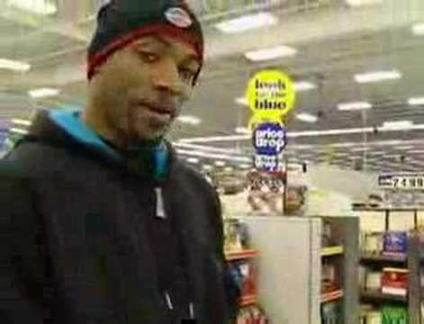 Jarvis Hayes doing some Christmas Shopping for the Pistons Video