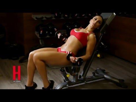 Ale Rivera, la jarocha super sexy en la revista H