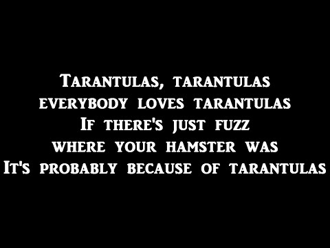 Bryant Oden- Tarantulas- Lyrics On Screen