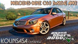 GTA 5 Mercedes-Benz C63 (W204) AMG
