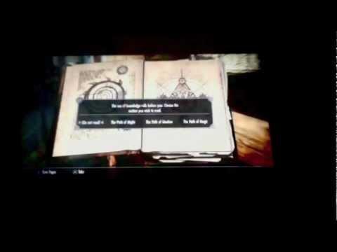 Dark Crow I's The Elder Scrolls V: Skyrim - Oghma Infinium/Book Duplication Glitch