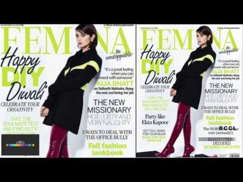 Alia Bhatt is on the Femina cover