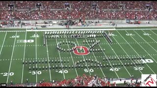 "Ohio State Marching Band ""The Wizard of Oz"" - Halftime vs. Cincinnati (9-27-2014)"