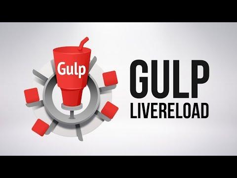 Автообновление CSS кода (gulp-livereload)