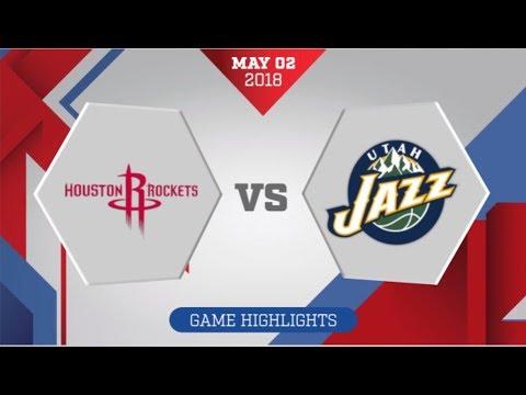 Utah Jazz vs Houston Rockets Game 2: May 2, 2018