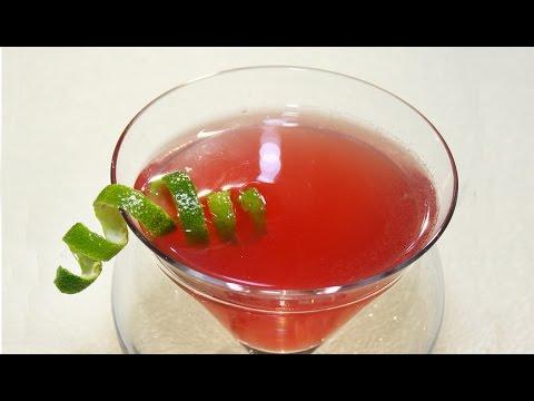 Receta. Cóctel Cosmopolitan Martini