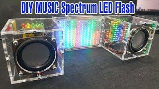 Assembling Music Spectrum Led Flash and Amplifier Speaker | P1