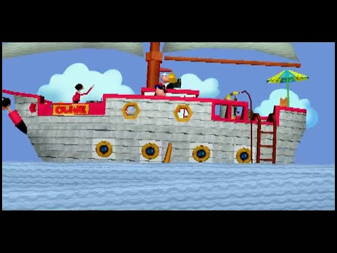 Popeye & The Sunken Treasure walkthrough