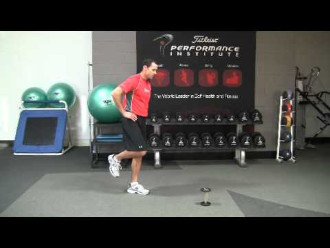 Golf Fitness Cone Reach Balance Exercise