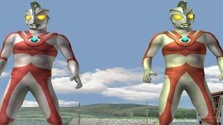 Ultraman Ace & Ace-TAG Battle Mode ★Play ウルトラマン FE3