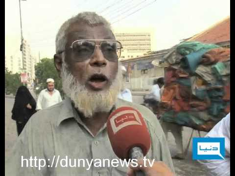 Dunya TV-17-09-2011-Roads Condition In Karachi