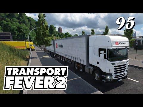 Transport Fever 2 S6/#95: Vom LKW auf's Cargo-Schiff und weiter [Lets Play][German][Deutsch]