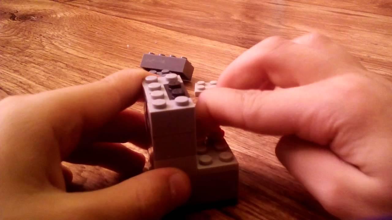 Как сделать автомат из лего который дает