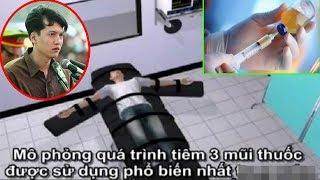 Cận cảnh quá trình tiêm thuốc độc cho t.ử tù Nguyễn Hải Dương trong vụ thảm sát Bình Phước