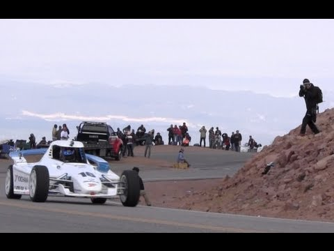 The Sights & Sounds of the 2012 Pikes Peak International Hill Climb