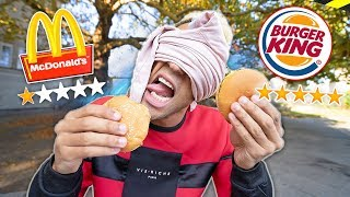1 Stern McDonalds vs 5 Sterne Burger King - Experiment ( Food Fun )