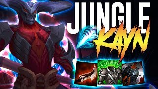 THE BEST JUNGLER IN SEASON 8?! - Kayn Jungle - League of Legends