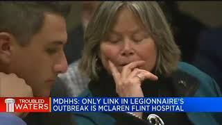 MDHHS  Only link in Legionnaires' outbreak is McLaren Flint hospital