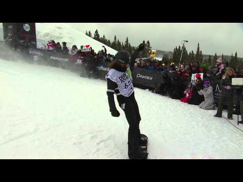 Shaun White Winning Run - Dew Tour Snowboard Superpipe Finals