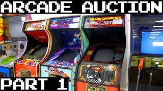 October 2018 HUGE Arcade Auction! - Part 1 👍
