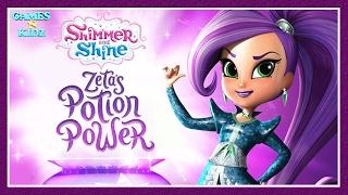 Shimmer & Shine: Zeta's Potion Power - Learn Colors -  Nick Jr App For Kids