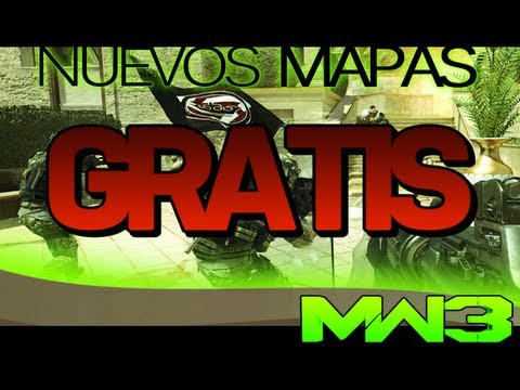 NUEVOS Mapas GRATIS - Modern Warfare 3 - Walkthrough Erosion y Aground - FACE OFF