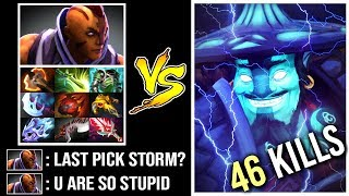 OMG THE DREAM Mega-Creeps Storm Spirit vs Anti-Mage 10 Items Most Epic Comeback WTF Dota 2