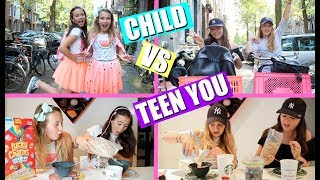 CHILD VS TEEN YOU |  MORNING ROUTINE
