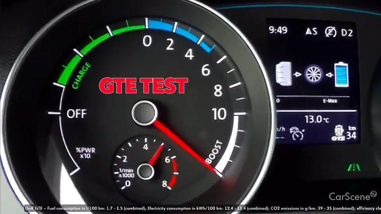 VW Golf GTE   TEST DRIVE - DRIVING MODE - YouTube